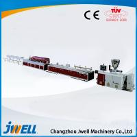 Buy cheap Jwell PE/PP WPC plastic extrusion line for wood tray or floors from wholesalers