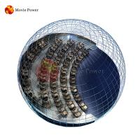 Buy cheap Amusement theme park totally immersive dome cinema 4d motion cinema equipment from wholesalers