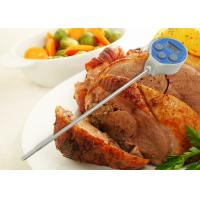 Buy cheap Round Face Waterproof Instant Read Digital Food Thermometer for Cooking from wholesalers