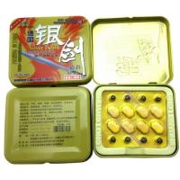 Buy cheap Silver Sword Natural Male Penis Enlargement Pill Anti Erection Dysfunction from wholesalers