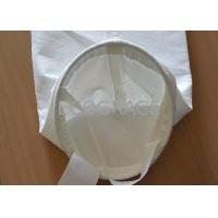 Buy cheap High Tensile Food Grade PP 100 Micron Filter Bag for Food Processing from wholesalers