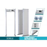 Buy cheap Multi Alarm Sounds Door Frame Metal Detector 255 Level With LCD Touch Screen from wholesalers