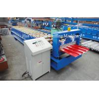 Buy cheap 4 Kw Trapezoidal Roof Panel Roll Forming Machine With Hydraulic Cutter from wholesalers