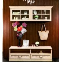 Buy cheap Wall Mounted Wooden TV Cabinets E1 grade MDF panel moisture-proof from wholesalers
