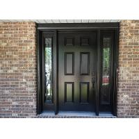 Buy cheap Single Leaf Solid Wood Doors , Solid Oak Glass Doors For Villa / Apartment from wholesalers
