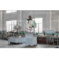 Buy cheap Glass Beer Bottle Capper Machine , High Speed Screw Capping Machine from wholesalers
