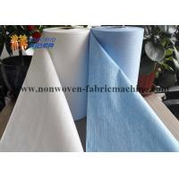 Buy cheap Custom Industrial Scrim Cleaning Wipes , Washable Industrial Cleaning Cloths from wholesalers