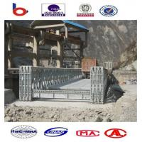 Buy cheap CB200 Bailey Bridge Single Lane QSR, Steel Bridge, Truss Bridge, Prefabricated Bridge from wholesalers