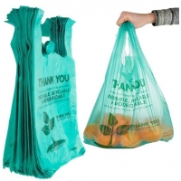 Buy cheap Corn starch bags, Biodegradable Plastic Bags, eco friendly bags, Waste disposal bags from wholesalers