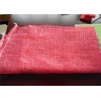 Buy cheap Polyethylene Mesh Vegetable Bags , Large Mesh Bags With Drawstring 50x80cm from wholesalers