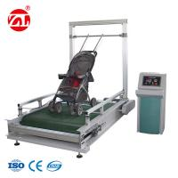 Buy cheap Stroller Bump Wear Test Instrument , Wheeled Suitcase Abrasion Testing Equipment from wholesalers