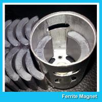 Buy cheap C5 Grade Permanent Ferrite DC Motor Magnet High Performance R13.15*R8.8*H21mm product