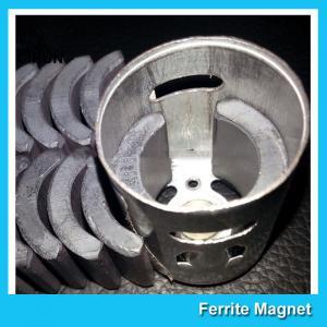 Buy cheap C5 Grade Permanent Ferrite DC Motor Magnet High Performance R13.15*R8.8*H21mm product