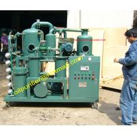 Buy cheap Vacuum transformer Oil Regeneration plant remove acidity, sludge, free carbon, other soluble oil decay products from wholesalers
