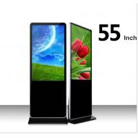 Buy cheap Wholesale 55 inch LCD in convention Display Screen Android Floor Standing LCD Advertising Player with wifi from wholesalers