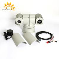 Vehicle Mounted Dual Thermal Camera , AC24V Outdoor PTZ Security Camera