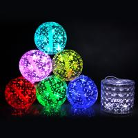 Buy cheap New Design Stlye 7 Color Changing Blue Red Colorful Foldable Solar Lantern from wholesalers