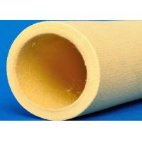 Buy cheap 480℃ Degree Yellow Kevlar Fabric Roll 8mm Thickness Corrosion Resistance from wholesalers
