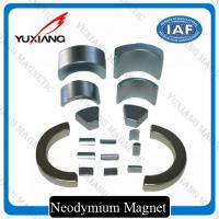 Buy cheap Sever Motor Neodymium Iron Boron Magnets , N38SH Tiny Strong Magnets OEM / ODM from wholesalers