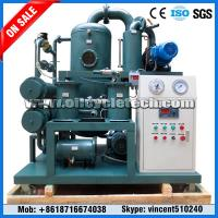 Buy cheap Skid Mounted Double Stage Vacuum Transformer Oil Purifier Machine for Power Station from wholesalers