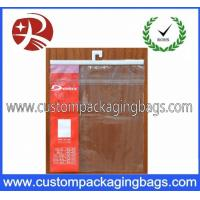 Buy cheap Garment OPP / CPP Plastic Hanger Bag With Seal Adhesive For Clothing from wholesalers