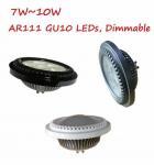 Buy cheap 7W8W9W10W AR111 ES111 GU10 Base LED Bulb Lights Spotlight Lamp Dimmable replace 50W75W Halogen Reflector from wholesalers