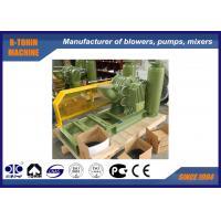 Belt driven Roots Lobe Biogas Blower air capacity 1200m3/h Belt driven