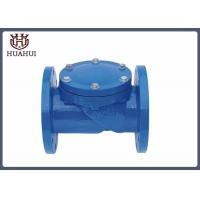 Buy cheap Double Flanged Swing Type Check Valve , EPDM Disc Double Check Valve For Water from wholesalers