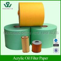 Buy cheap Auto Engine Oil filter paper from wholesalers