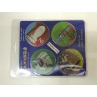 Buy cheap 2 Phase Flipping 3D PET Custom Hologram Stickers Full Color Printing For Car product