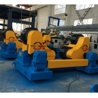 Buy cheap Self Aligning Rotator Pipe Welding PU coated Rollers 400mm Dia. 4kW Motor Interver control from wholesalers