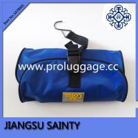 Buy cheap Blue pvc surface mens hanging travel toiletry bag from wholesalers