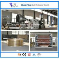 Buy cheap China HDPE Jacket Insulation Pipe Poduction Line / Extrusion Machine from wholesalers