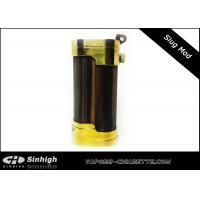Buy cheap Steel Punk Slug Mechanical Mod E Cig Wooden Style With Brass Cap from wholesalers