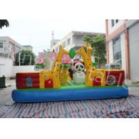 Buy cheap Giant Animal Children Inflatable Happy Hop Jumping Castle With CE Certification from wholesalers