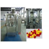 Buy cheap Powder Pills Encapsulated Capsule Filling Equipment Fully Automatic from wholesalers