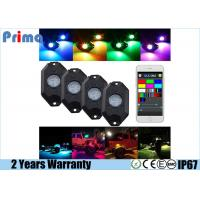 China RGB LED Rock Light Kits with Phone App Control Multicolor Neon Lights Under Off Road Truck SUV ATV on sale