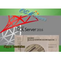 Buy cheap MS SQL Windows Server 2016 Standard Key License X20-96930 Embedded Std OPK Package from wholesalers