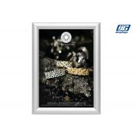 Quality Customized Size Silver Coloar Aluminum Snap Open Frame Poster Display Case for sale