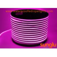 Buy cheap 2835 120LED / M LED NEON Rope Light DC 12V LED Pink Strip Lights For Swimming Pool from wholesalers