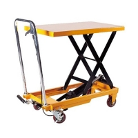 Buy cheap 900mm Central Single Scissor Lift Table from wholesalers