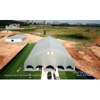 Buy cheap Hot Sale Curved Shape Permanent Sport Tent for Football Court from Liri Tent from wholesalers