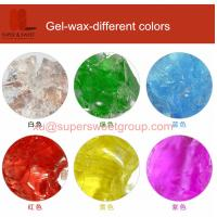 China Different color gel wax for making gel wax candles on sale