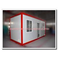Buy cheap Moveable Prefabricated Steel Modular Container House with Sandwich Roof & Wall Panels from wholesalers