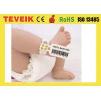 Buy cheap Medical Rfid Wristband For Baby Identification with factory production from wholesalers