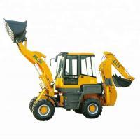 Buy cheap Stable Running Small Backhoe Loader 1.6 Ton With 1600kg Operating Weight from wholesalers