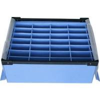 Buy cheap Large Conductive Fire Resistance Corrugated Plastic Boxes For Partition from wholesalers