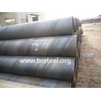 Buy cheap API 5L X42 SSAW steel pipes of  light-oiled/black painting/hot  galvanizing product
