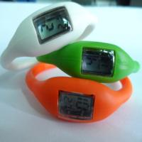 Buy cheap Multi Functional Silicone Wristband Watch , Minus Ion Silicone Sports Wrist Watches from wholesalers