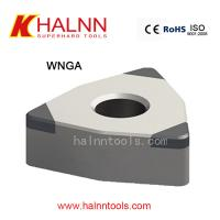 Buy cheap CBN Turning insert on Hard Turning the inner bore of the gear after heat-treating process with semi-interrupted turning from wholesalers